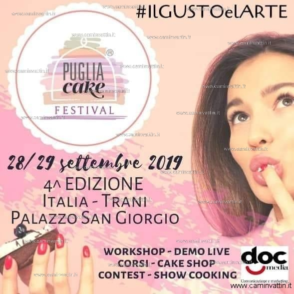 puglia cake festival 2019
