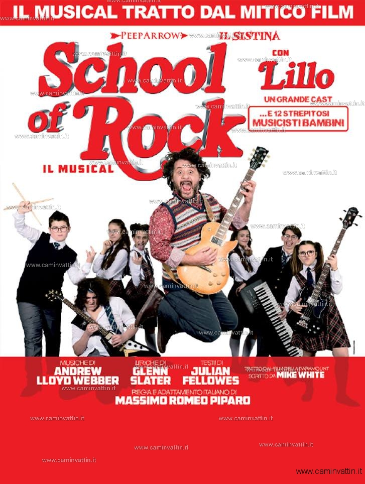 SCHOOL OF ROCK il musical al Teatro Team