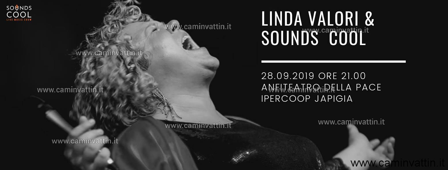 Linda Valori Sounds Cool in concerto Anfiteatro della Pace