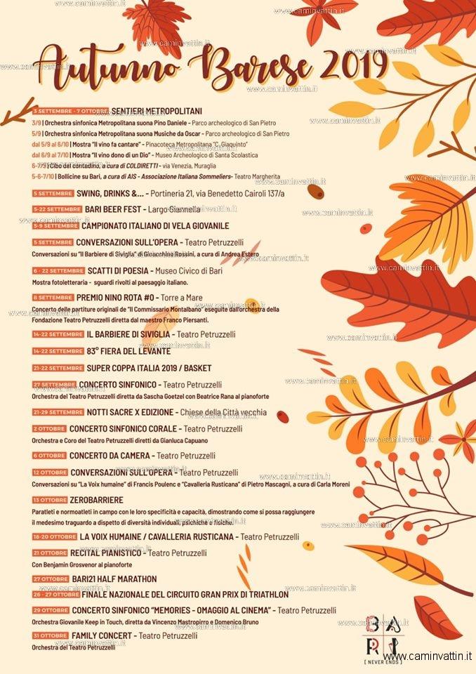 autunno barese 2019
