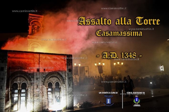corteo storico corrado IV assalto alla torre casamassima