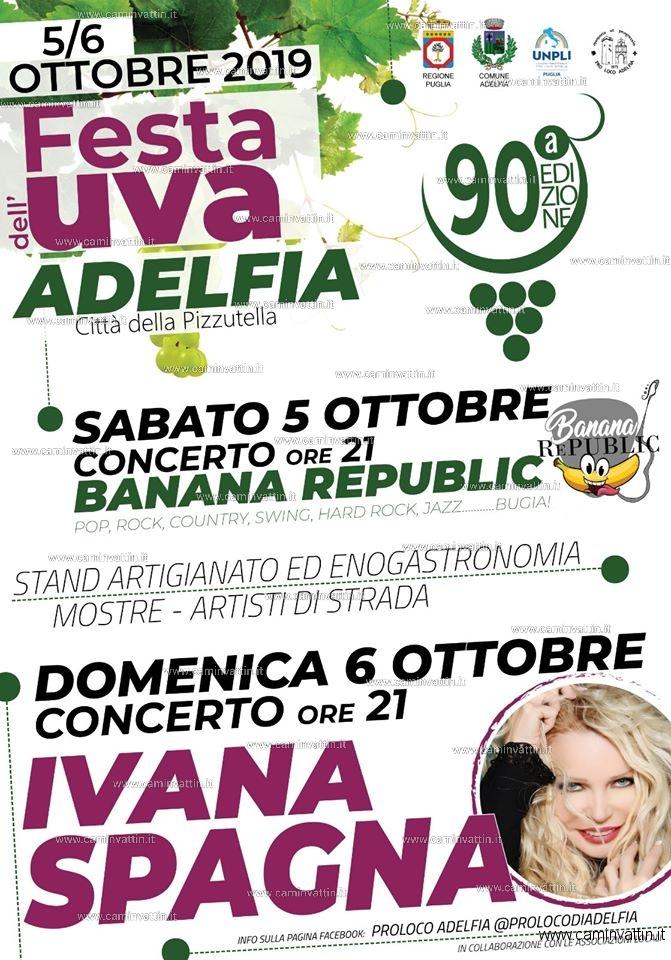 festa dell uva adelfia 2019