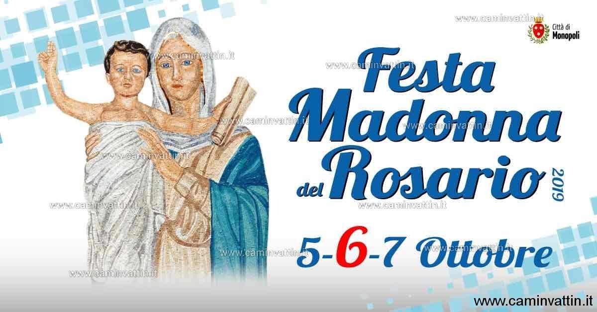 festa madonna del rosario 2019 monopoli