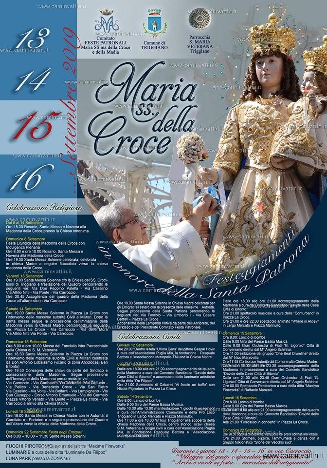 festa maria ss della croce triggiano