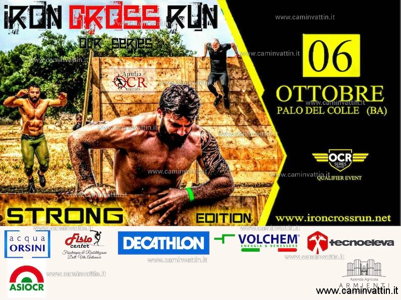iron cross run strong edition palo del colle