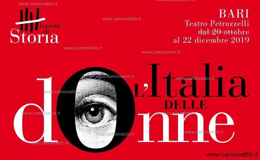 lezioni di storia l italia delle donne teatro petruzzelli