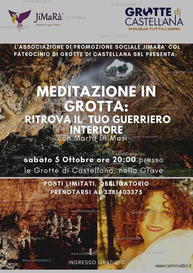 meditazione in grotta marta di masi