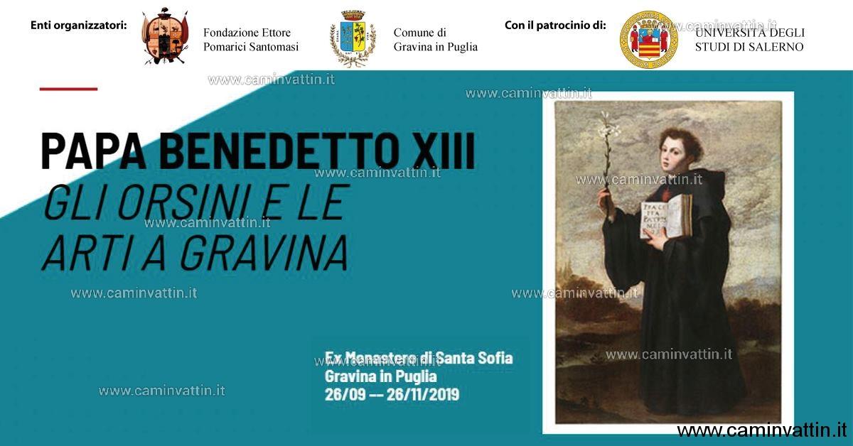 papa benedetto XIII gli orsini e le arti a gravina