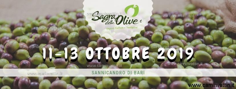 sagra delle olive 2019 sannicandro di bari
