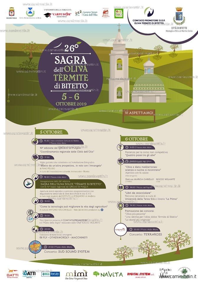 sagra oliva termite bitetto 2019