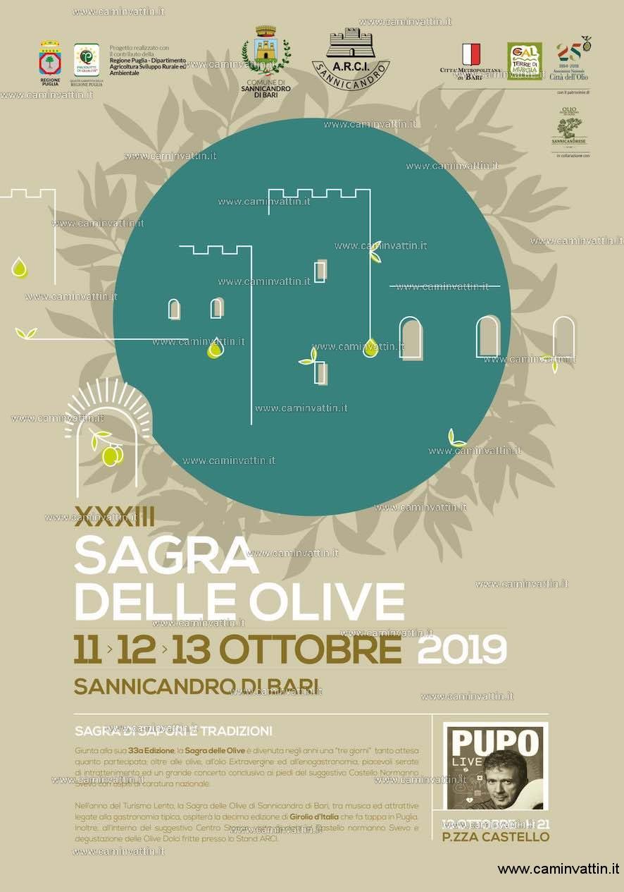 sagra olive 2019 sannicandro di bari