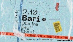 the pier live officina degli esordi
