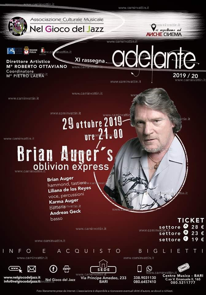Brian Auger oblivion express