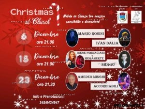 christmas at church putignano