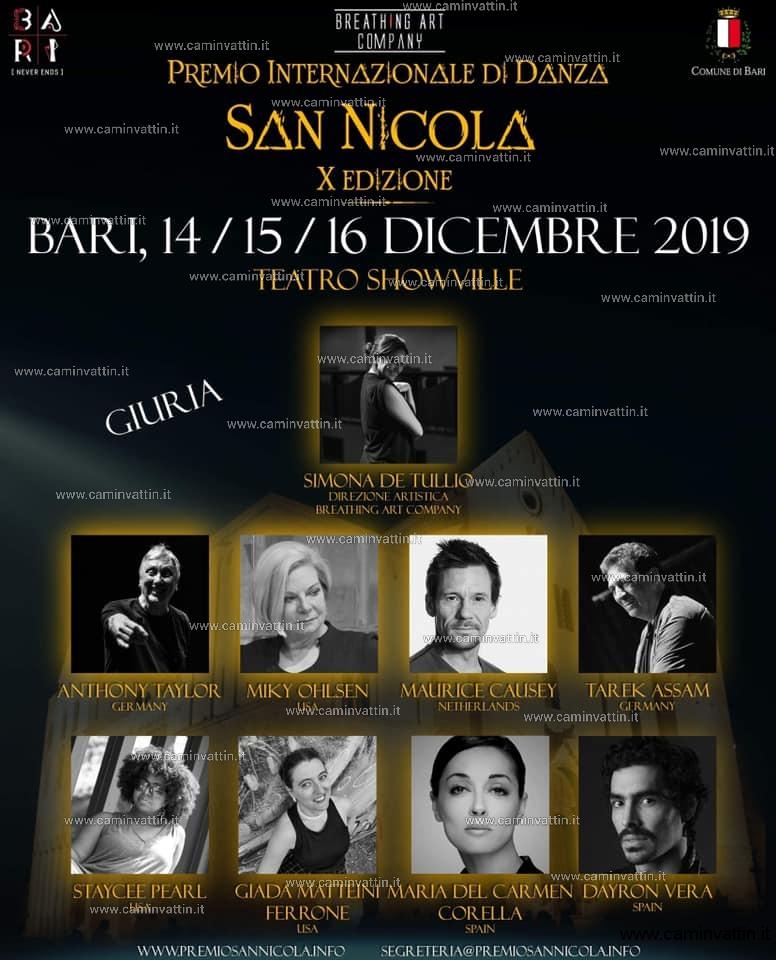 premio internazionale danza san nicola 2019