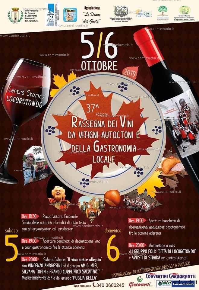 rassegna dei vini e gastronomia locorotondo