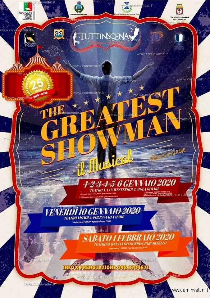 the greatest showman il musical