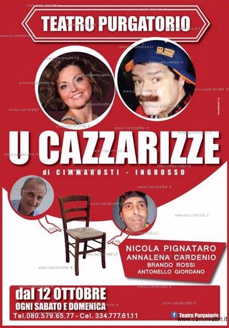 u cazzarizze nicola pignataro teatro purgatorio