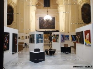 Artisti in mostra a Santa Teresa dei Maschi