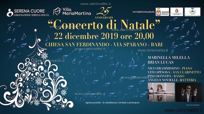 Concerto di Natale in via Sparano