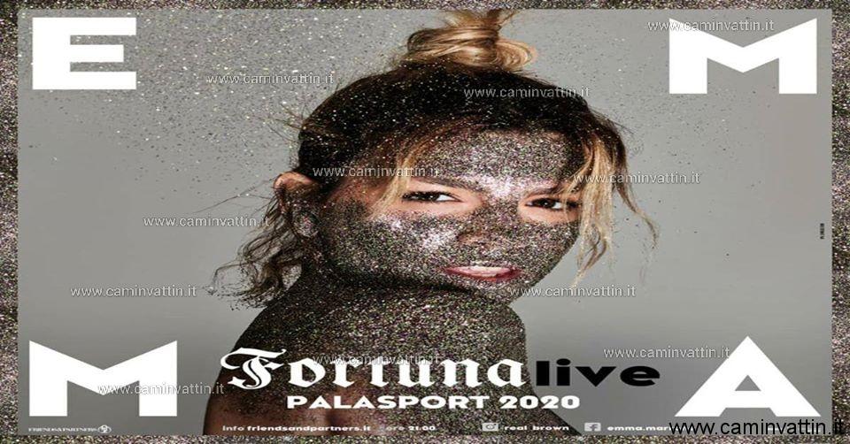emma marrone fortuna live 2020 bari