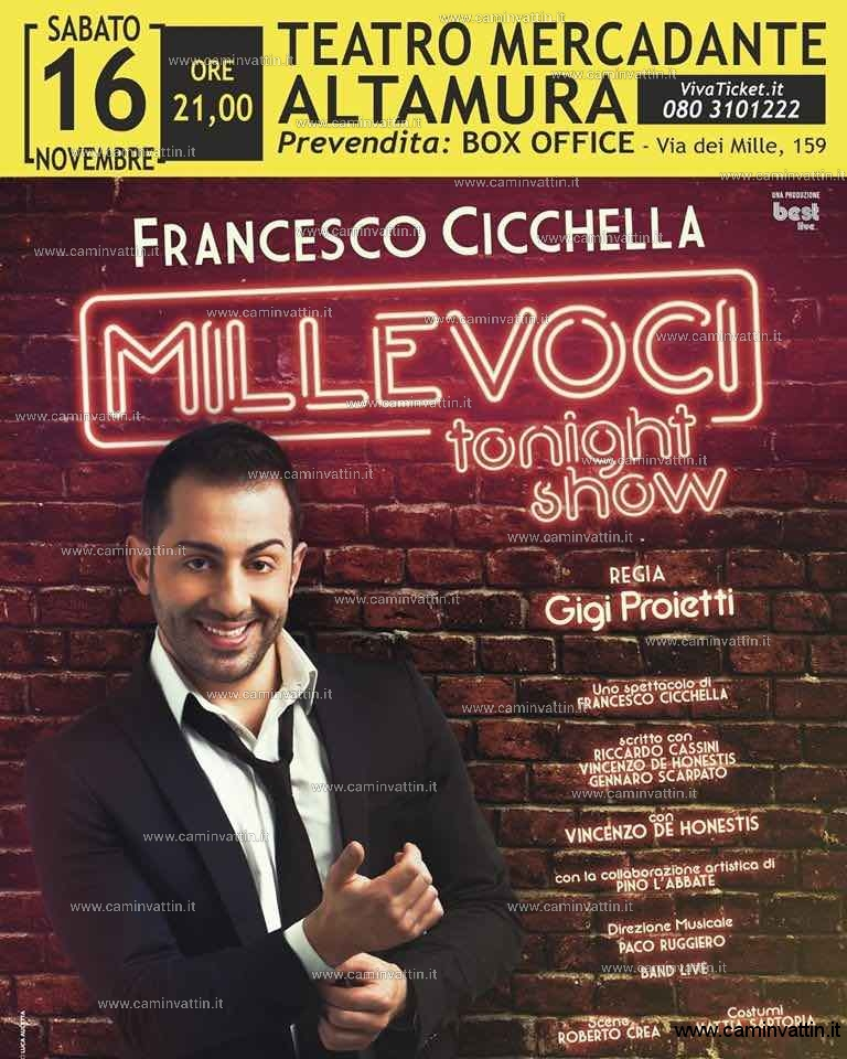 francesco cicchella millevoci tonight show