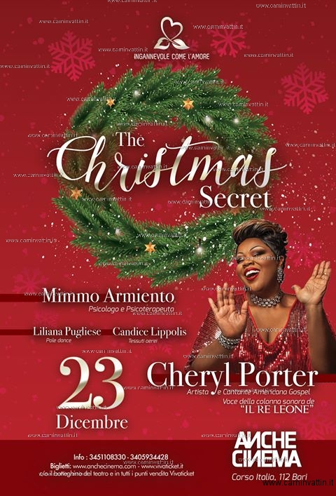 the christmas secret cheryl porter