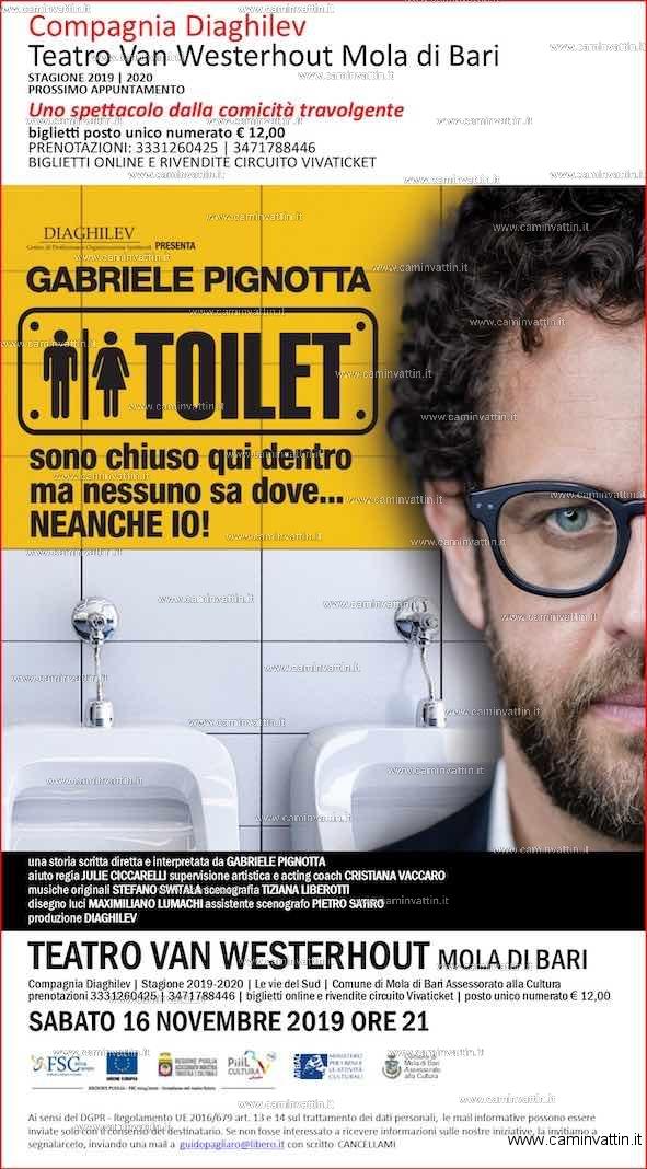 toilet gabriele pignotta