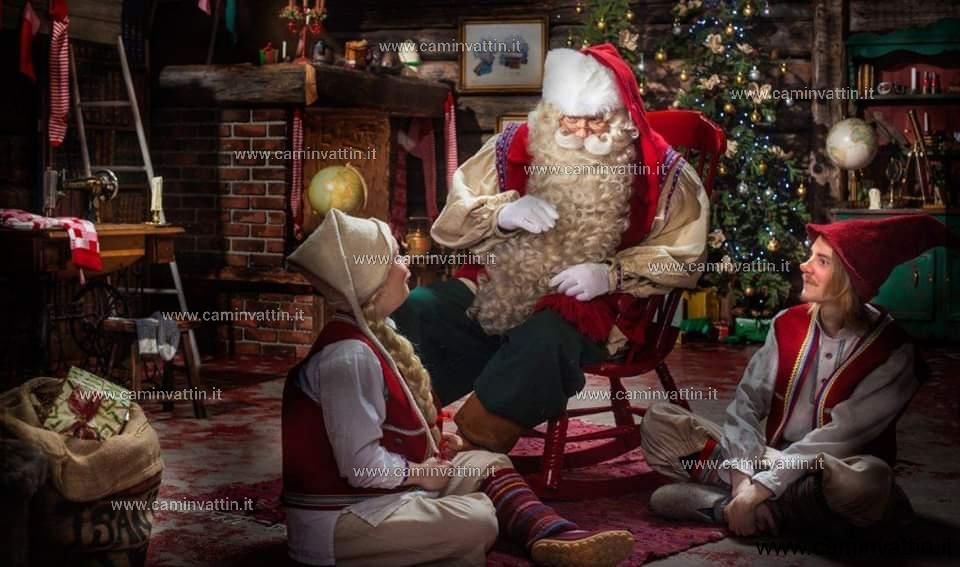 Babbo Natale nel Castello Angioino
