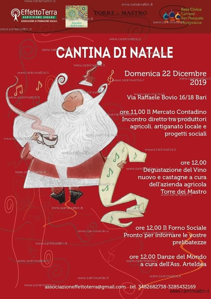 Cantina di Natale a Bari