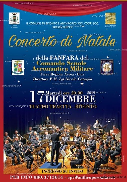Concerto di Natale Fanfara Aeronautica Militare