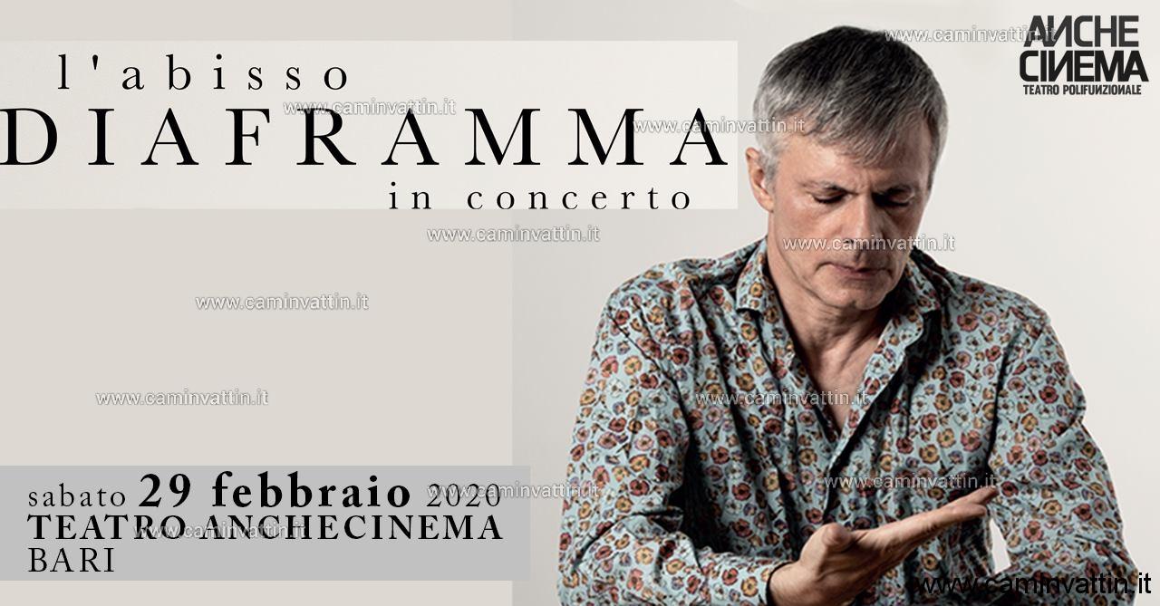 DIAFRAMMA in concerto al Teatro Anche Cinema