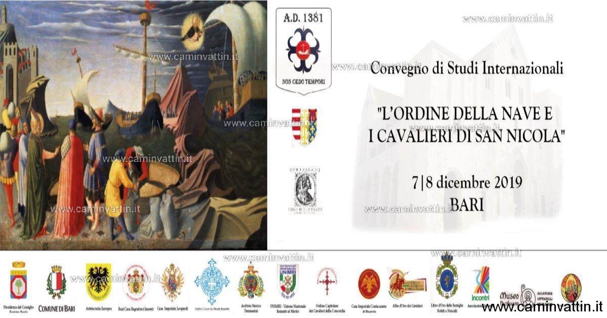 L Ordine della Nave e i Cavalieri di San Nicola