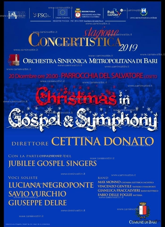 christmas in gospel e symphony