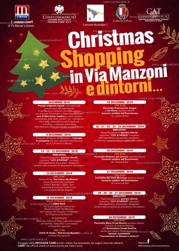 christmas shopping in via manzoni e dintorni