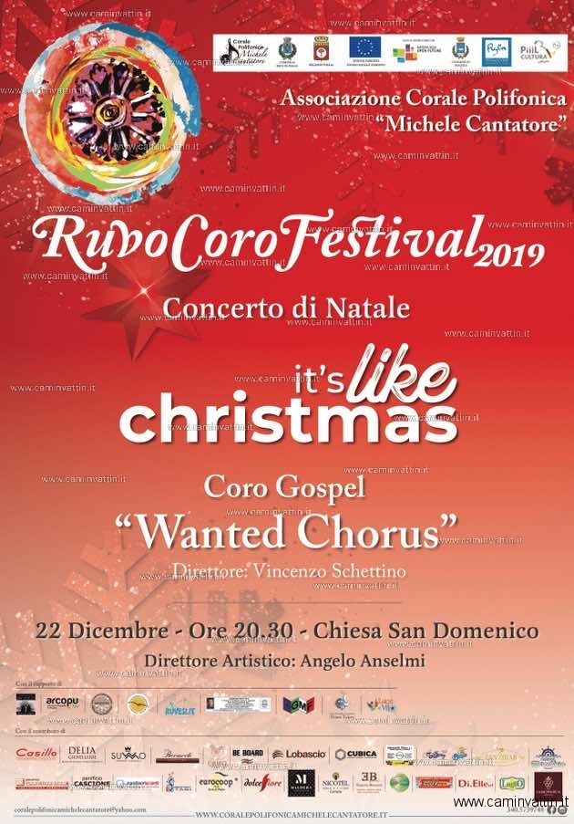 concerto di natale ruvo coro festival