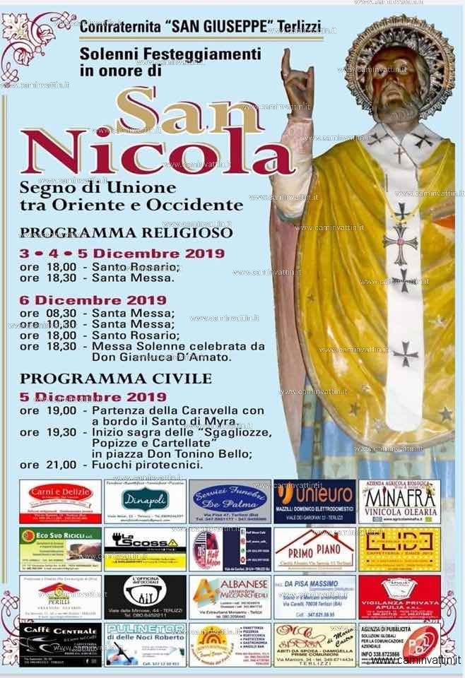 festa san nicola 2019 terlizzi