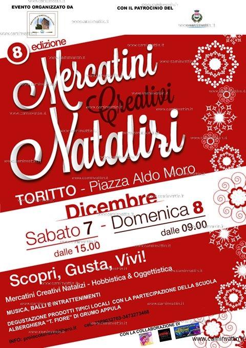 mercatini creativi natalizi 2019 toritto