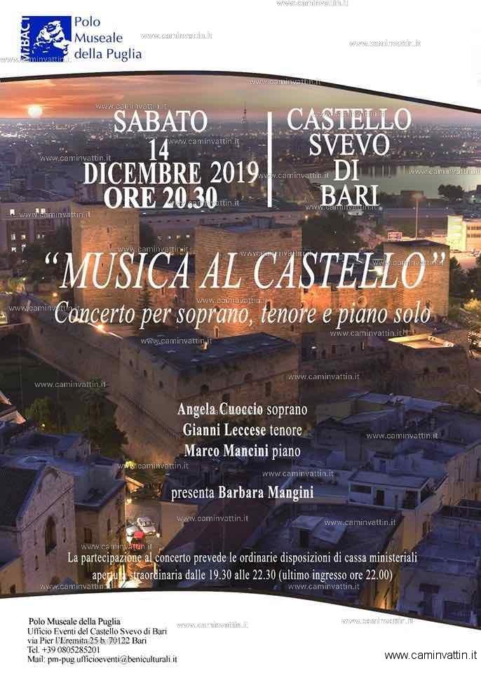 musica al castello svevo