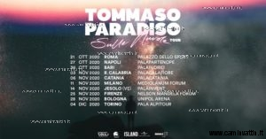 tommaso paradiso sulle nuvole tour 2020