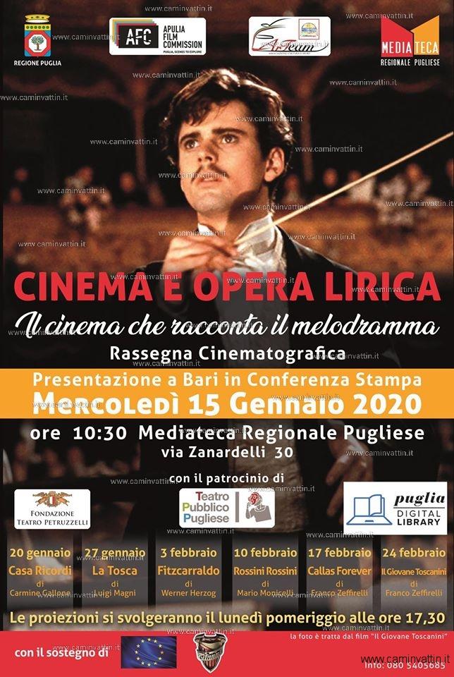 Cinema e Opera Lirica 6 appuntamenti di cinema gratuito