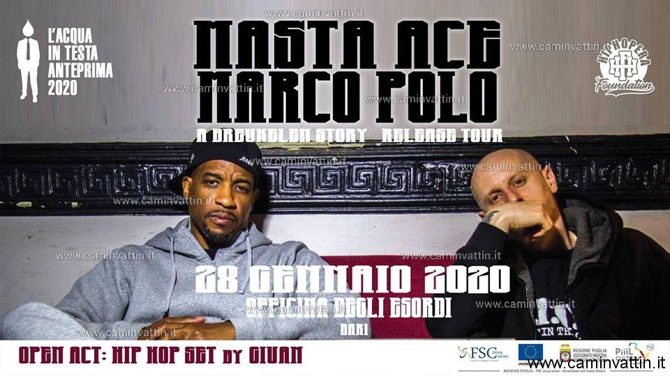 Masta Ace e Marco Polo live a Bari