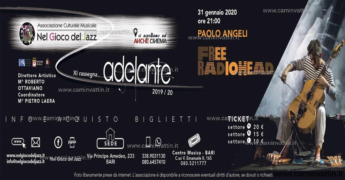 Paolo Angeli Free radiohead