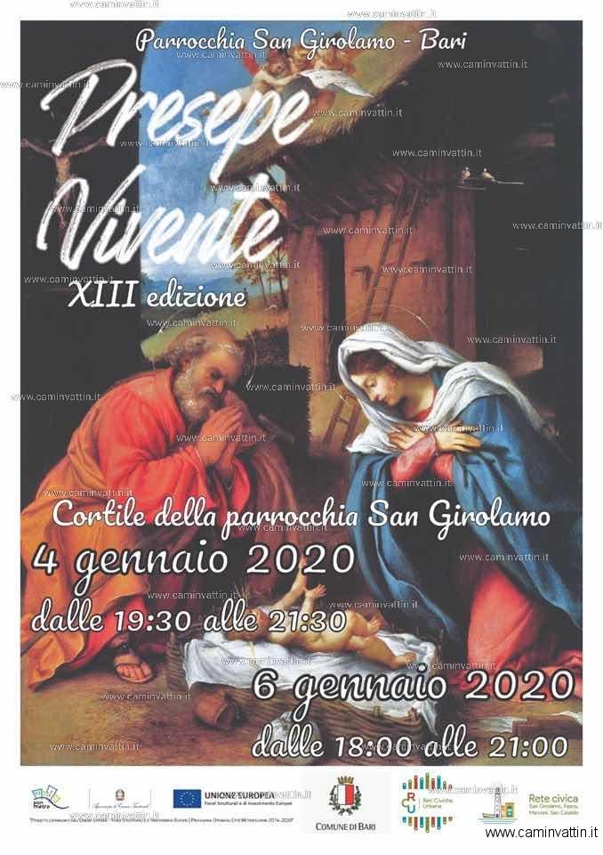 Presepe Vivente Bari San Girolamo