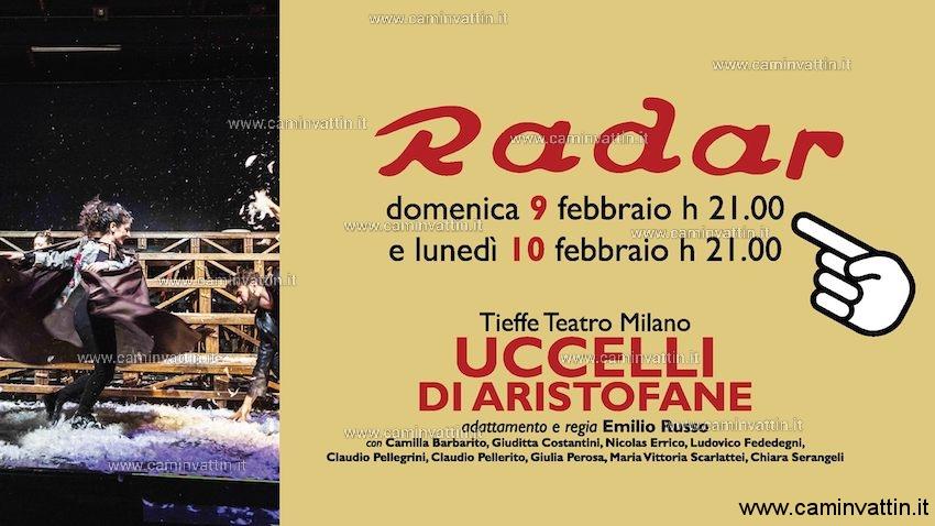 UCCELLI DI ARISTOFANE Teatro Radar