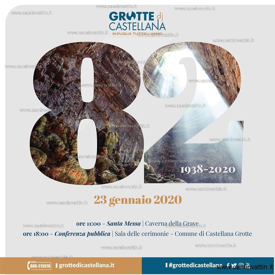 anniversario scoperta grotte di castellana 2020