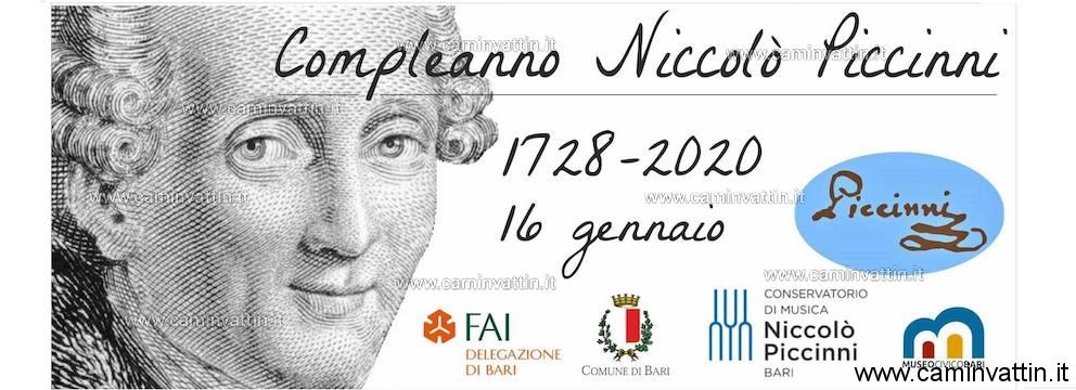 La Città di Bari celebra per la prima volta il Compleanno di Niccolò Piccinni