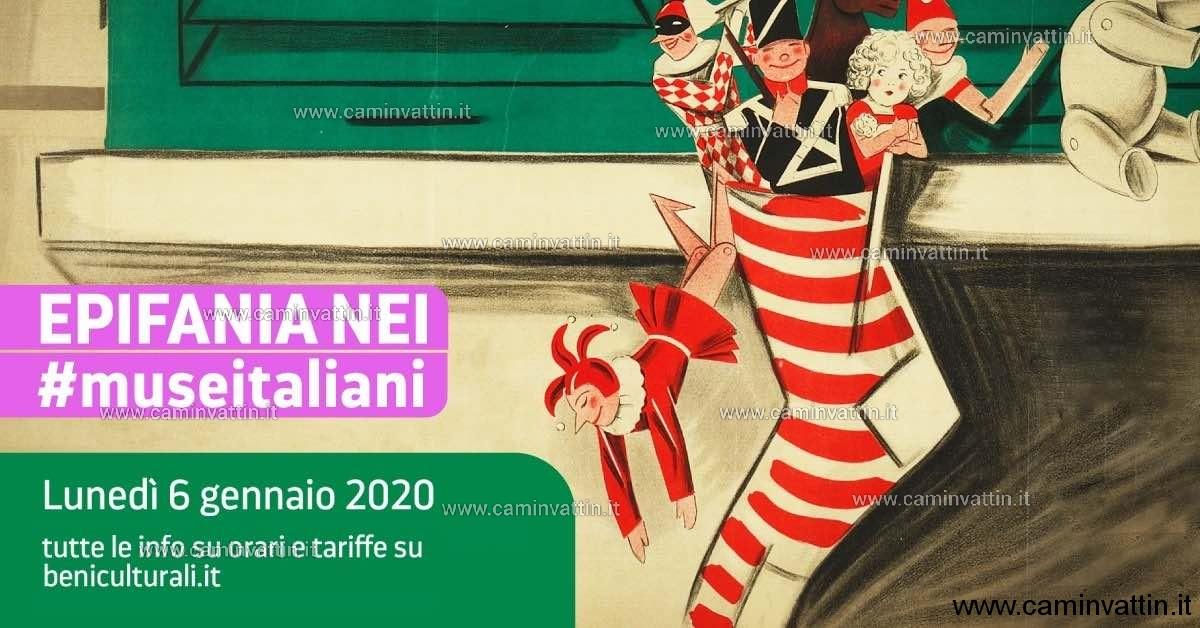 epifania nei musei italiani