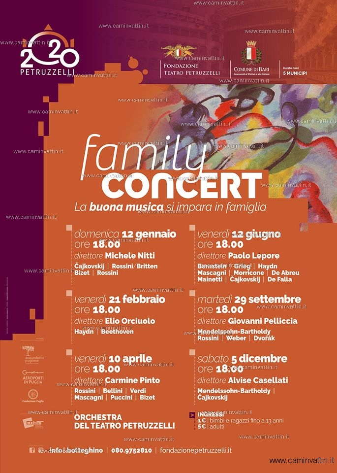 family concert 2020 teatro petruzzelli