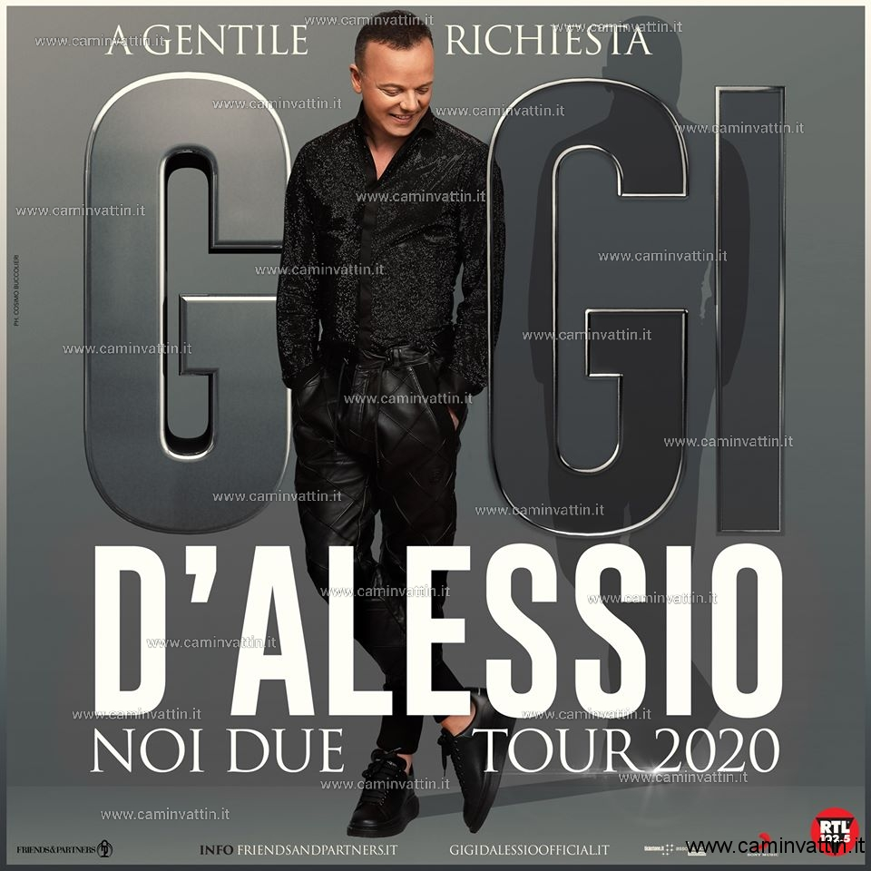 gigi d'alessio noi due tour 2020